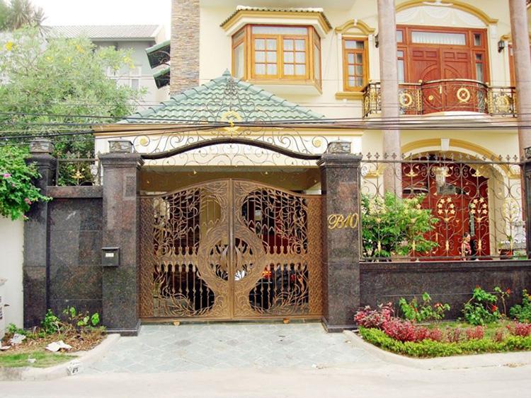 Những lưu ý khi xây dựng cổng nhà