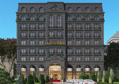 khách sạn cổ điển Pháp