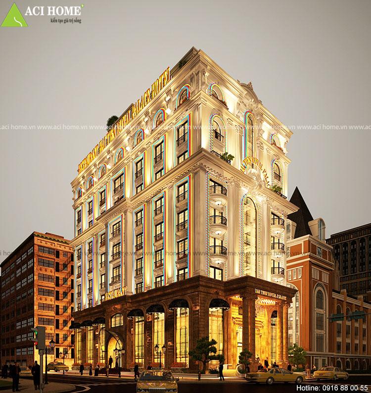 thiết kế khách sạn văn phòng tại Thanh Hóa