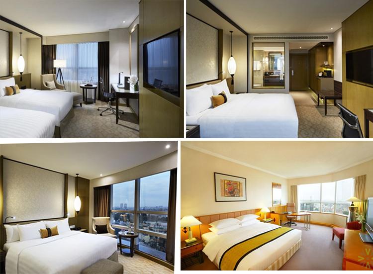 các phòng trong khách sạn Melia