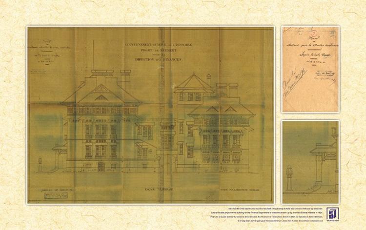 bản thiết kế nha tài chính Đông Dương