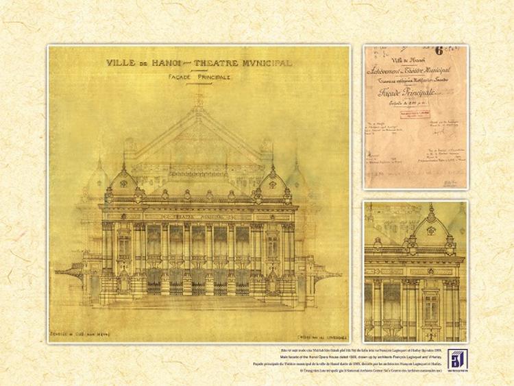 bản thiết kế nhà hát lớn