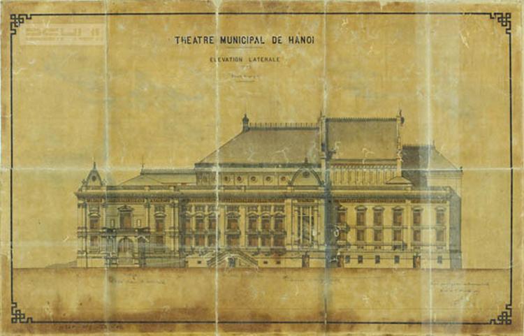 bản sao của nhà hát Opera của Pháp