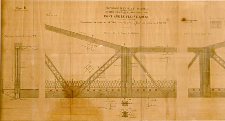 chiều dài của cầu Long Biên là 1600m2