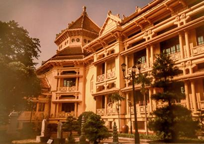 những bản thiết kế cổ của Pháp tại Hà Nội