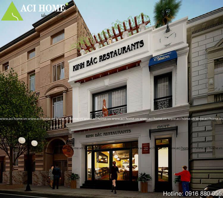 nhà phố kết hợp kinh doanh quán ăn