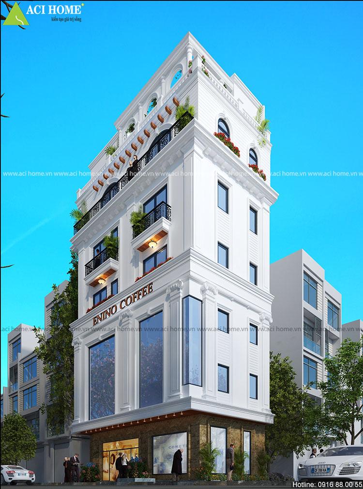 thiết kế nhà phố tận dụng làm quán cà phê