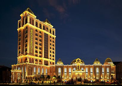 thiết kế khách sạn tại Phan Thiết