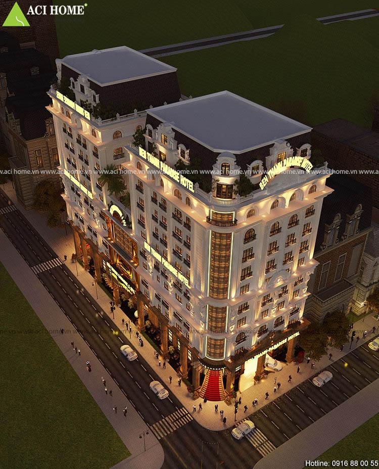 Cải tạo khách sạn Pháp Ben Thanh Paradise