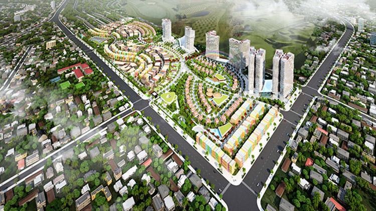 mô hình dự án tại Phan Thiết