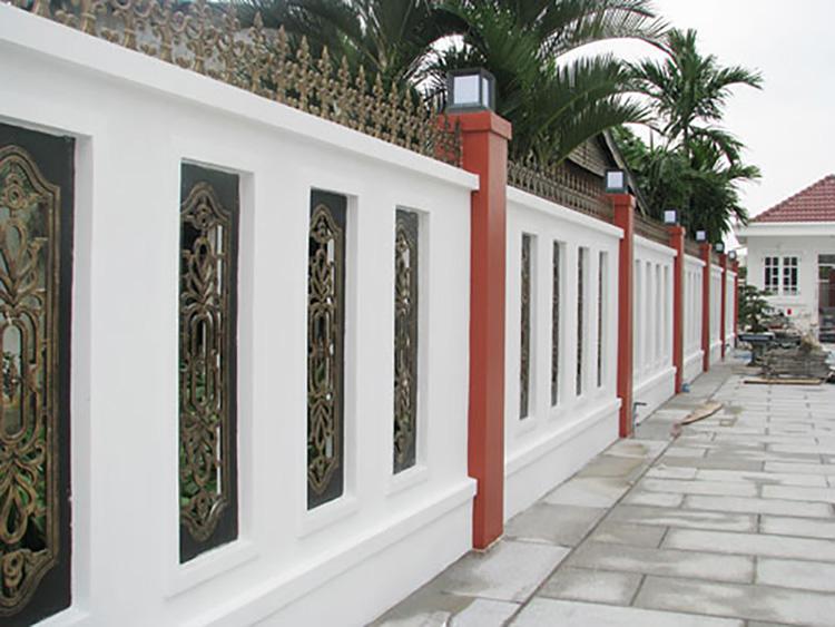 tường rào bê tông
