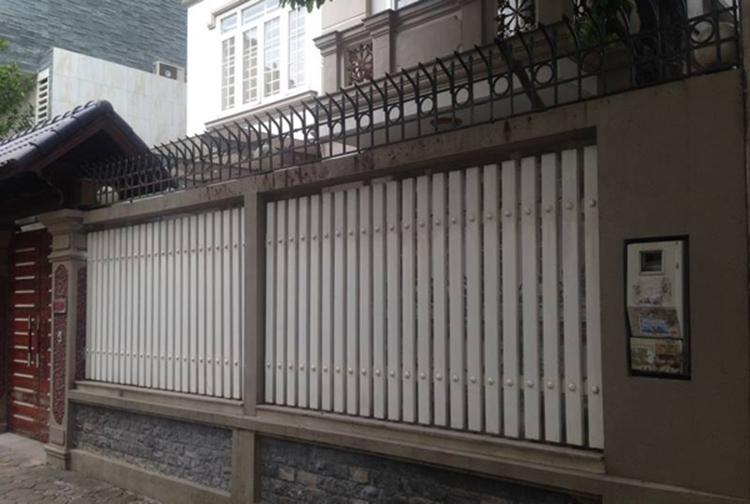 Cổng tường rào hiện đại