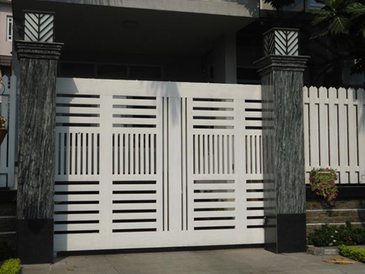 hình dáng cổng biệt thự