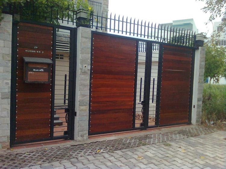 cổng biệt thự đơn giản