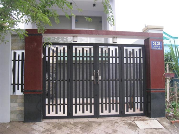 Cổng nhà phong thủy