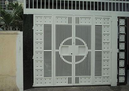 những mẫu cổng biệt thự hiện đại