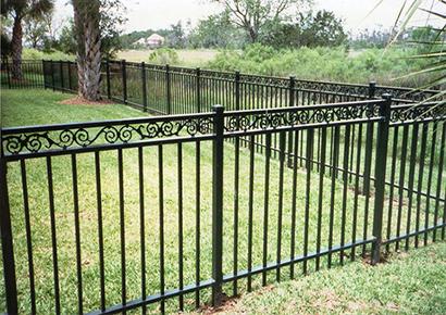 Những mẫu hàng rào sắt đẹp
