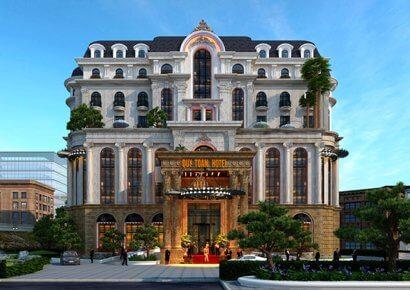 thiết kế khách sạn cổ điển đẹp