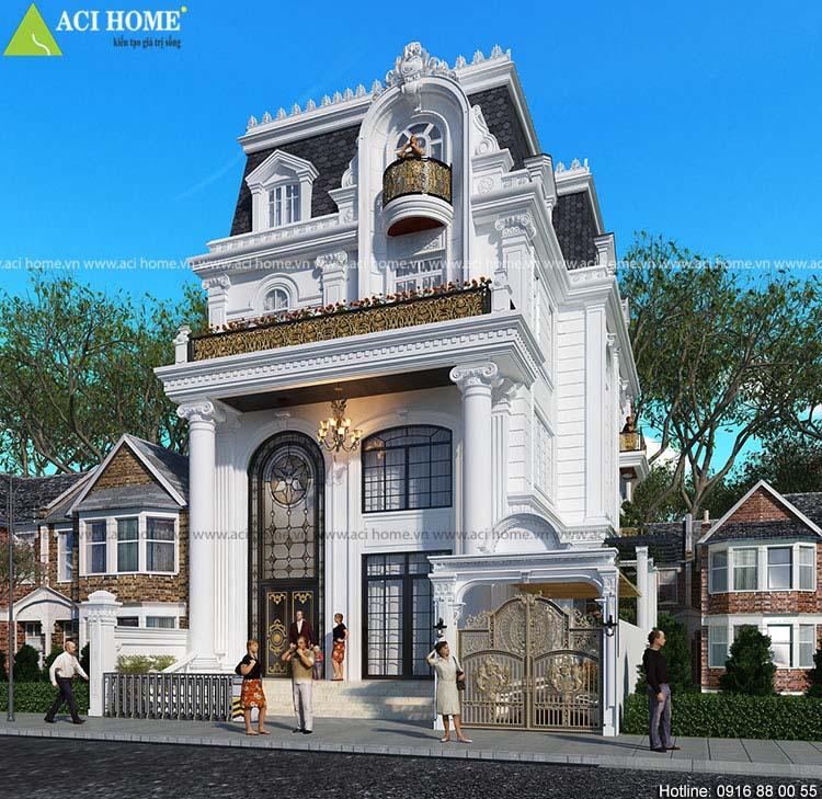 biệt thự nhà phố Pháp tại Hải Dương
