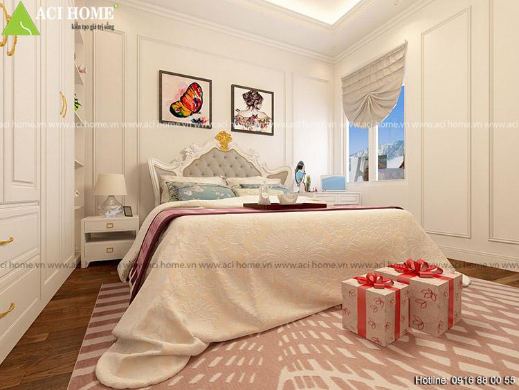 phòng ngủ master của gia chủ