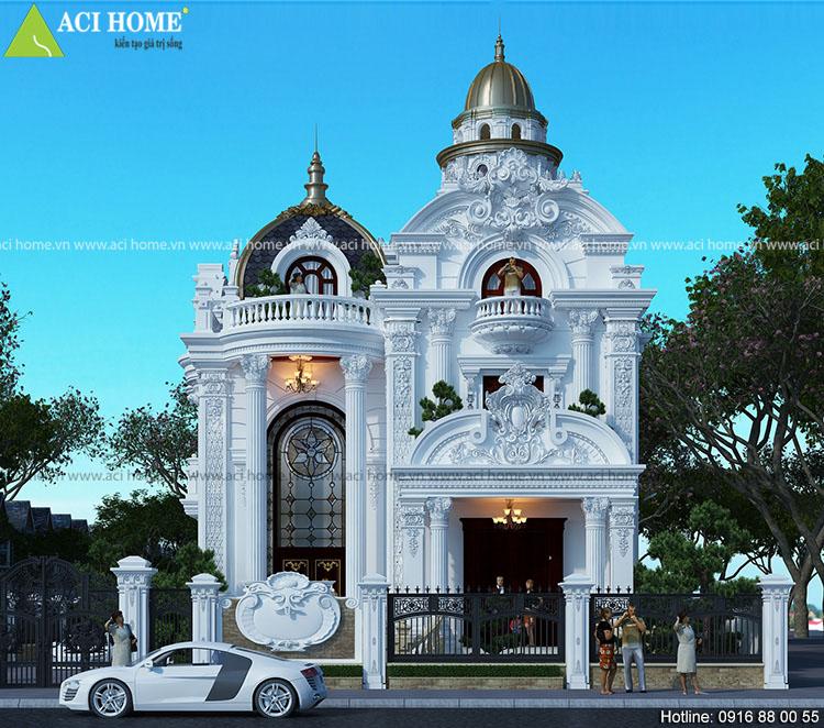 chi phí xây biệt thự cổ điển