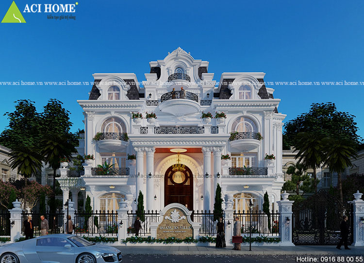 Thiết kế biệt thự - Kiến trúc Aci Home