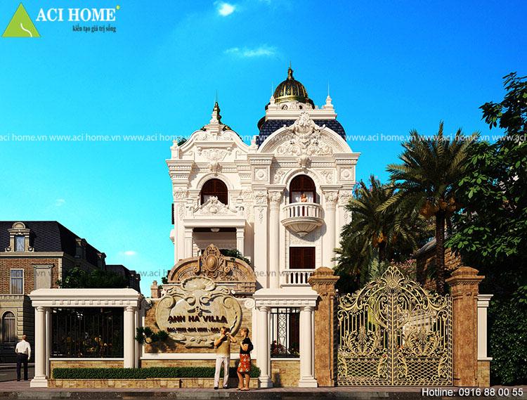 nhà biệt thự cổ điển đẹp