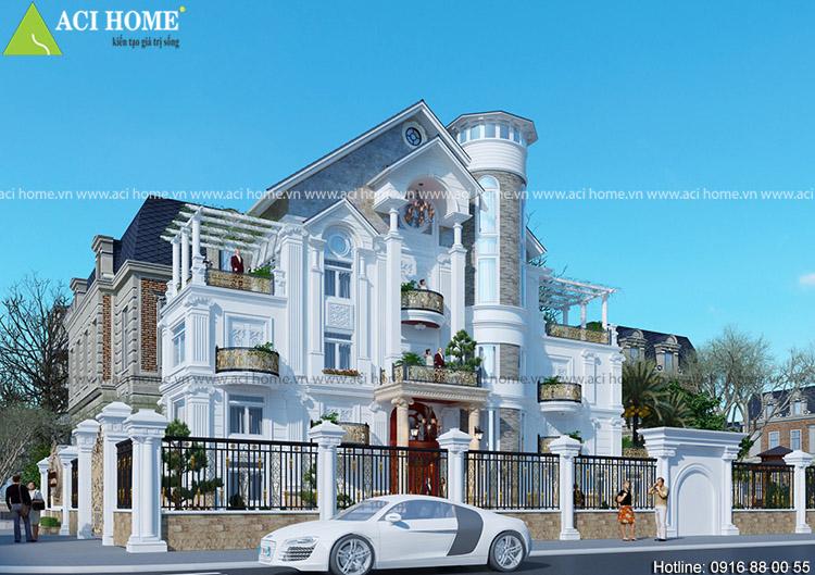 quy trình thiết kế xây dựng biệt thự