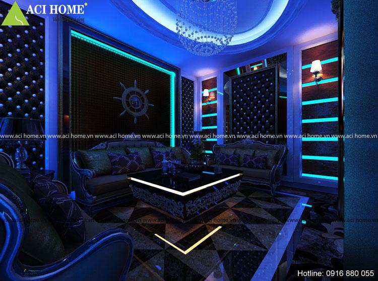 thiết kế nội thất phòng hát