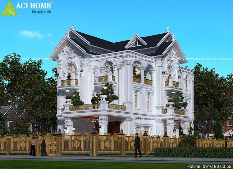 biệt thự tân cổ điển Pháp tại Thái Bình