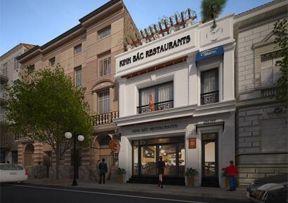công ty thiết kế nhà hàng kiểu Pháp