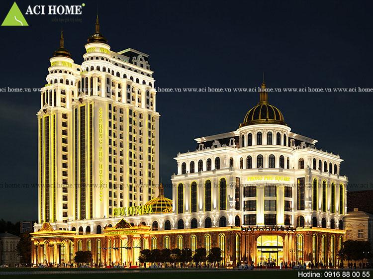 Thiết kế khách sạn cổ điển Phong Phú