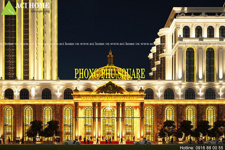 trung tâm sự kiện Phong Phú Square