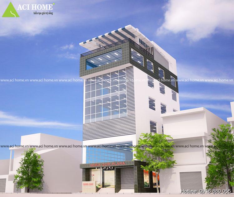 Thiết kế trung tâm thương mại SeiKa