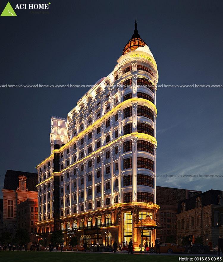khach sạn  Thanh Vinh Square