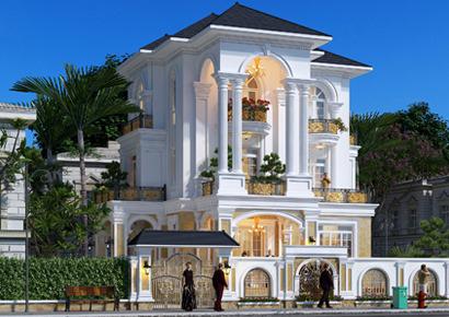 biệt thự Pháp 120m2 tại Lạng Sơn