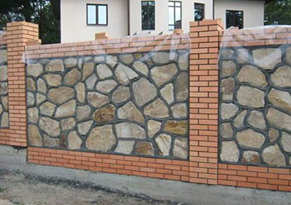 những mẫu tường rào gạch đẹp
