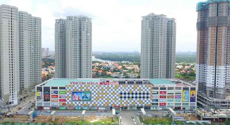 trung tâm thương mại Vincom Mega Mall Thảo Điền