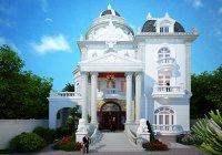 Thiết kế biệt thự cổ điển tại Vũng Tàu