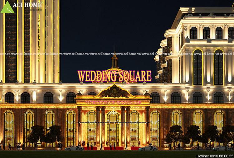 cận cảnh Wedding Square
