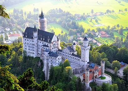 biệt thự lâu đài cổ