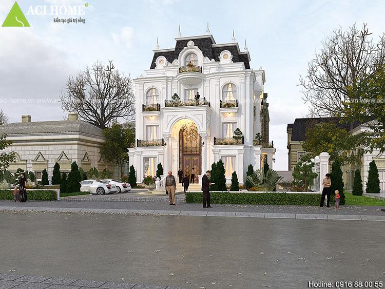 công trình sử dụng kiến trúc Pháp