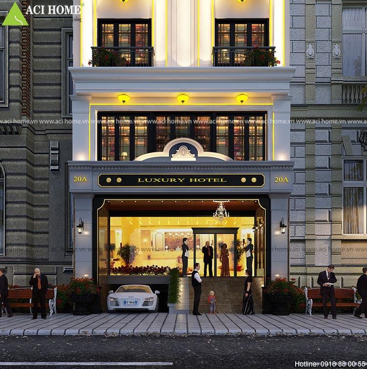 sảnh chinh khách sạn quận 1