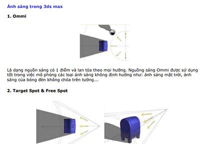 Giáo trình học 3dmax cơ bản nâng cao