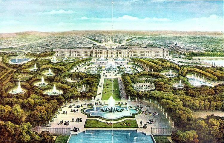 Cung điện Versailles cung điện tráng lệ nhất Châu Âu
