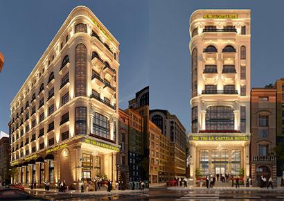 mẫu khách sạn Boutique