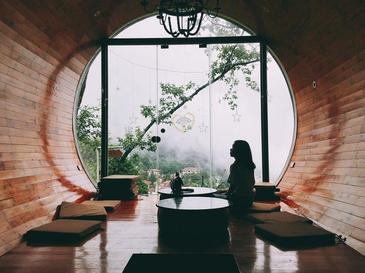 Thiết kế Homestay nhà ống được làm với không gian mở