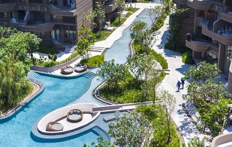 Thiết kế Resort với không gian mở hiện đại sang trọng và đẳng cấp