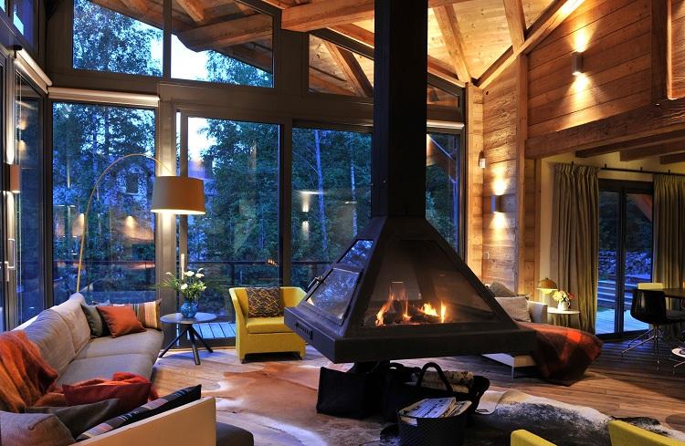 Cảnh quan mở với cửa kính hướng view đẹp tại Resort