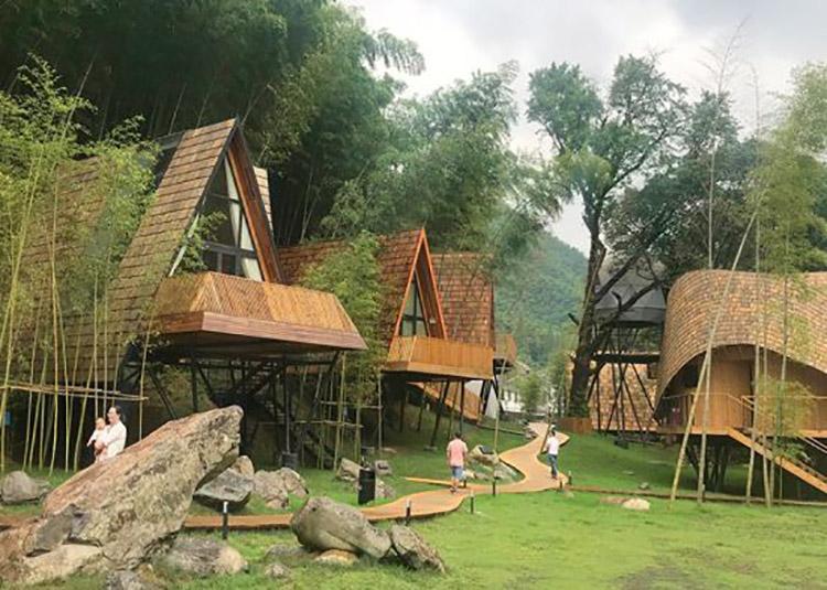 Thiết kế Bungalow tại các khu du lịch sinh thái núi rừng độc đáo - View 1